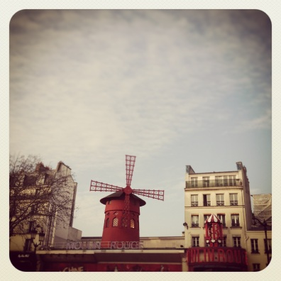 The famous Moulin Rouge windmill