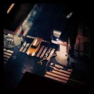 Madison Avenue from the New York Palace Hotel, taken on Instagram © Daniel Lewis 2013