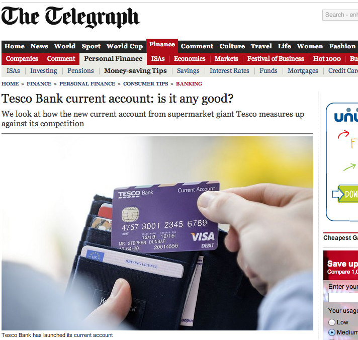 Daily Telegraph online