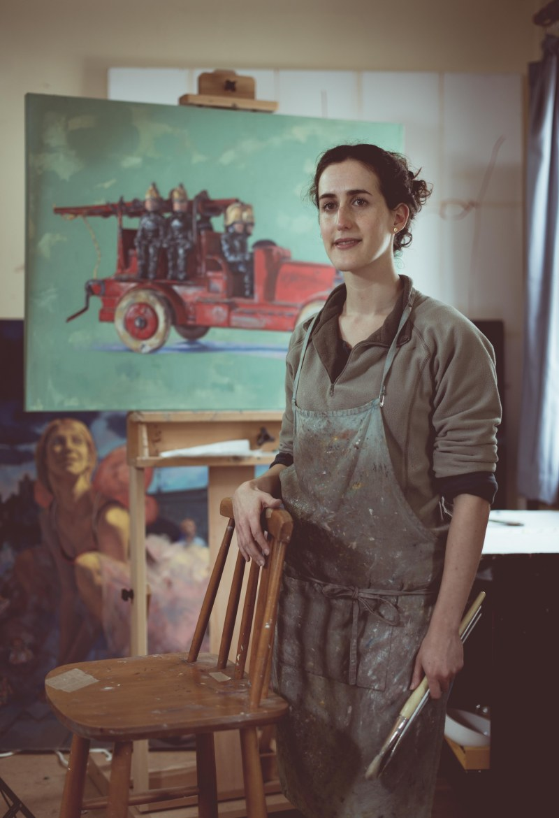 Susie Nathanson, painter