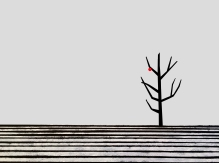 RenniePilgrem_TreeWithRed_SmallercmCrop